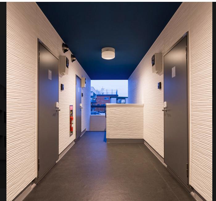 TATERUアパート例ドア内側